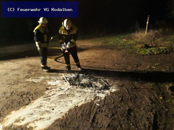 B6 - Kleinbrand vom 13.01.2018  |  (C) Feuerwehr VG Rodalben (2018)