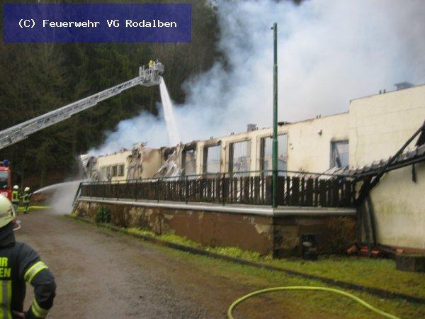 B1 - Gebäudebrand vom 13.03.2018  |  (C) Feuerwehr VG Rodalben (2018)