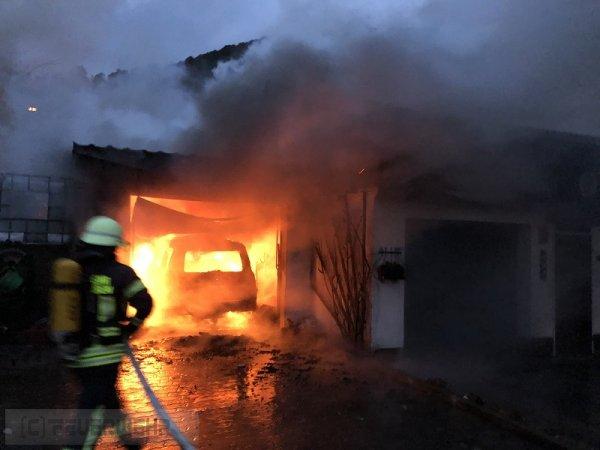 B2.05 - Brand Nebengebäude vom 14.03.2019  |  (C) Feuerwehr VG Rodalben (2019)