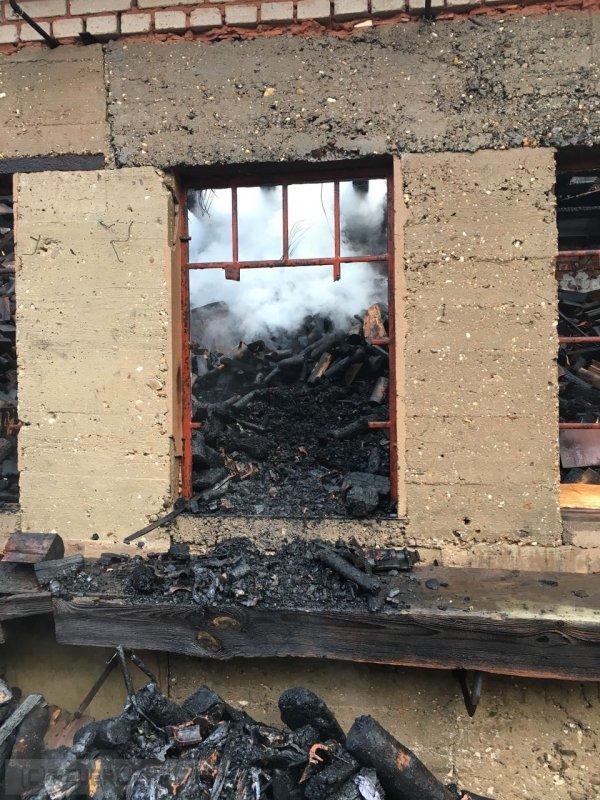 B1 - Gebäudebrand vom 15.02.2018  |  (C) Feuerwehr VG Rodalben (2018)